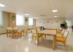 公立小野町地方綜合病院の食堂の写真
